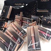Wholesale beauty dreams - New Nabla dreaming matte liquid lipstick 10colors Nabla lip gloss star lipgloss makeup lips beauty high quality long lasting matte lipstick