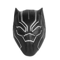 máscaras de super-heróis negros venda por atacado-1 PC Máscara Do Partido Do Dia Das Bruxas 3D Batman Pantera Negra Malha Olho Máscara Cheia de Super-heróis do Dia Das Bruxas Cosplay Moda Decoração Do Partido