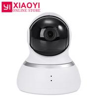 caméras grand angle achat en gros de-[Edition internationale] Caméra dôme 1080p Xiaoyi Yi 1080p Caméra dôme IP XIAOMI YI avec commande panoramique-inclinaison 112 Webcam