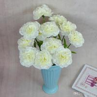 buquê de flores de cravo venda por atacado-Requintado Flor Cravo Multi Cor Flores Dia Das Mães Presente Mobiliário Doméstico Decoração Dias Do Professor Presente Da Noiva Buquê De Casamento 1 1 gg