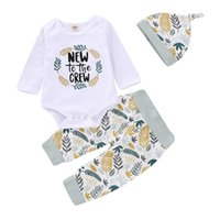 Wholesale animal romper hat for sale - Mikrdoo Toddler Baby Girls Cute Cartoon Animal Clothes Set Letters and Floral Print Long Sleeve Romper Pant Hat Outfit