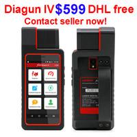 lançamento x431 iv venda por atacado-Lançamento X431 Diagun IV Ferramenta de Diagnóstico 2 anos de atualização gratuita VIA Wifi / Bluetooth com 25 presentes X431 Diagun IV melhor do que diagun iii