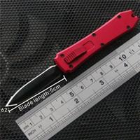 ingrosso auto alluminio-coltelli automatici mini coltello auto coltelli di alta qualità 6 colori senza logo mini chiave fibbia tasca coltello manico in alluminio spedizione gratuita