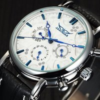 modern mechanical watches Australia - 2018 Jaragar Elegant Design Genuine Leather Strap Men Mechanical Wrist Watch Mens Watches Luxury Men Automatic Clock Y1892103