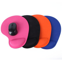 estera de ratones al por mayor-Wrist Protect Trackball óptico PC Espesar Alfombrilla de ratón Confort suave Alfombrilla de ratón Mat ratones