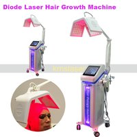 Wholesale growth products - NEW Hair Growth Products New 650nm Diode Laser Hair Regrowth Machine hair salon equipment
