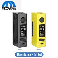 Wholesale temperature controlled - Authentic Smoant Battlestar Mini 80W Box Mod Temperature Control Vape Mod Compact Size with 0.96inch OLED Display 100% Original