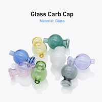 Wholesale nail tools online - 22mm Carb Cap glass with Color for X XL banger mm mm Quartz Banger Nails Honey Bucket Also selling dabber dab tools