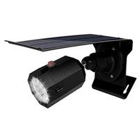 ingrosso illuminazione esterna del giardino all'aperto-Solar Garden Light LED Outdoor IP65 Impermeabile Simulazione Camera Luces Solares Para Esterno Sensore di movimento Lampada Street Yard Decoration