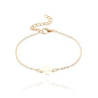 mode vögel silber großhandel-Einfache Mode Friedenstaube Charms Armband Schöne Gold Silber Metall Tiny Baby Vogel Armbänder Armreifen Für Frauen Mädchen Pulseira