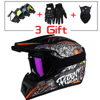Wholesale Moto Racing Helmet - 2017 new design mens motocross helmet motocicleta casco capacete motorcycle helmet off road racing DIRT BIKE moto