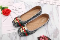 Wholesale Canvas Basic - 2018 Basic Flats for Women fashion dress shoes woman flat heels womens