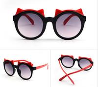 óculos estilo rã venda por atacado-2018 Bull's glasses estilo fashion Frog mirror Óculos de sol infantis