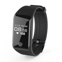 "Wholesale talk band - B3 Smart Bracelet unisex size 0.66""OLED Screen Health Band with Heart Rate BT Earphone Headset Notification Tracker Smart Talk Band"