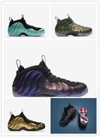 Wholesale Polyester Foams - Discount cheap Air One Men Basketball Shoes DARK STUCCO FOAM Eggplant Red Copper Basketball Sport Shoes Outdoor Athletic Sneaker shoes