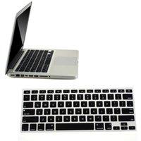 tastaturbezüge zubehör großhandel-Heißer Verkauf Tastatur-Abdeckung Silikon-Tastatur-Haut-Abdeckung für Macbook Pro Air Mac Retina 13.3 Laptop-Zubehör Für xiaomi