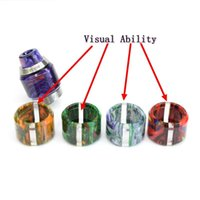 Wholesale Quality Visual - Resin Replacement Tube Caps Drip Tips Kit Big Capacity For Asvape Cobra RTA Glass Tank Expansion Tank Visual Ability High Quality