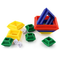 Wholesale Patterns Puzzles - Building Blocks For Kids Intelligence Develop Children Puzzle Multi Design Change Pattern Pagoda Toys Magic Cubes Gifts High Quality 6 2xd