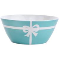 vajilla ecológica china al por mayor-Azul vajilla de cerámica 5,5 pulgadas tazones disco desayuno Bow bone china postre tazón cereal ensalada tazón vajilla buena calidad Regalos de boda