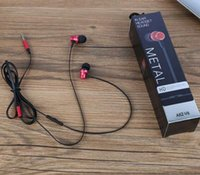 Wholesale silver cell phone music resale online - AKZ V4 Metal Headphone In Ear Wired Earphone mm Heavy Bass Sound Quality Music Sport Headset With Retail Package For iPhone Xiaomi