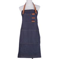 Wholesale Chef Waist Aprons - Denim Detachable Cowboy Antifouling Uniform Unisex Pinafore For Woman Men Kitchen Apron Chef Cooking Leather Antifouling