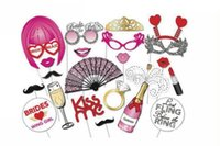 Wholesale nice events - Fashion event and party tools,nice and cute festive and birthday photo taken paper tools,22 different pcs per lot bag