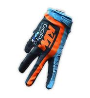guantes de nylon para moto al por mayor-Nueva moto de montaña todoterreno guantes de ciclismo MX guantes de moto todoterreno