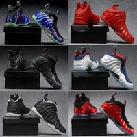 deportes de perlas al por mayor-Mejores zapatos de baloncesto Penny Hardaway Hombres negros Chaussure Homme Air European Pearl Pro One 1 zapato zapatillas deportivas auténticas y deportivas