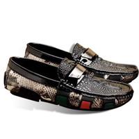 ingrosso scarpe da bulldozer-Taglia 38 44 Moda uomo in vera pelle scarpe da punta scarpe a punta Bullock Oxfords Scarpe per uomo, Lace Up Designer Luxury Brand Men Shoes
