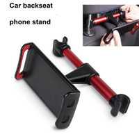 Wholesale car tablet seat for sale - New car backseat tablet PC stand headrest holder bracket support for ipad car back seat Mobile phone holders stands rear pillow stand