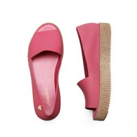 Wholesale fish holes - 2018 hole hole shoes female summer beach jelly gradient pregnant women antiskid flat sandals, slippers and fish 236