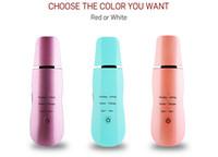 ultrason güzellik cihazları toptan satış-Tamax ev kullanımı 24 Khz Ultrason İyonik Cilt Scrubber Yüz soyma güzellik Cihazı Siyah Nokta Kaldırma exfoliator Güzellik Makinesi Yüz Masajı