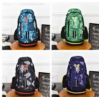 Wholesale backpack bags for travel - Fashion KOBE Men Backpacks Basketball Bag Sport Backpack School Bag For Teenager Outdoor Backpack Marque Mochila