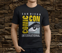 dibujos animados internacionales al por mayor-Nuevo Cool San Diego Comic Con International SDCC Wonder camiseta para hombre Tamaño S-3XL Camiseta de dibujos animados para hombre Unisex Nueva camiseta de moda