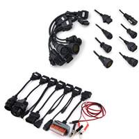 cables de escaneo de coche al por mayor-¡Envío gratis! Cables para el automóvil + Camión Cabels! Car Truck Cables 8 piezas para Tcs Cdp Pro Cable OBD OBDII OBD2 Scanner Scan envío gratis