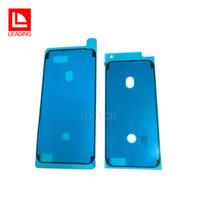 iphone schneidenaufkleber großhandel-MOQ 20 STÜCKE Wasserdichte Aufkleber für iPhone 6 S Plus 7 7 Plus 8 8 P X 3 Mt Adhesive Pre-Cut LCD Bildschirm Rahmen Band Reparatur Teile