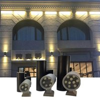 Wholesale decorative spot lights for sale - 6W W W W W Led Outdoor Wall Light Lamps cylinder UP Down dual head Waterproof IP65 AC85 V garden Decorative spot lights
