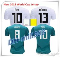 Wholesale Op Shorts - op thai quality 2018 Germany home soccer jersey 18 19 World Cup football t shirt MULLER OZIL GOTZE KROOS BOATENG REUS away football shirt