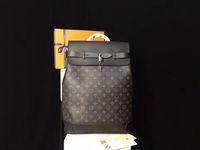 Wholesale M43296 Luxury Brand Mens Backpack High Quality PVC Men Bag M44052 Backpack Steamer Backapcks Real leather Men Bag Size cm