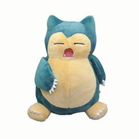 Wholesale anime video games for sale - Hot New quot CM Snorlax Plush Doll Anime Collectible Dolls Soft Party Gifts Stuffed Toys