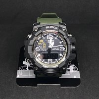 Wholesale dropship watches online - 2018 Trending Outdoor Sports Watches Men Running Big Dial Digital Wristwatches Chronograph PU Strap M Waterproof Watch Shock dropship
