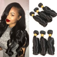 Wholesale quality funmi hair for sale - Group buy Finmi Curl Brazilian Hair Bundles Funmi Hair Extensions Weaves A Quality Natural Black Color