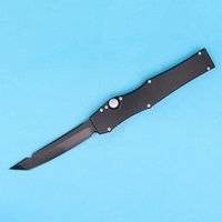 """Wholesale top survival gear - Top Quality Halo V Tanto Knife (4.6"""" Black) 150-4 single action auto Blade Blade Tactical knife Survival gear knives with kydex"""