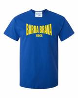 chemises junior bon marché achat en gros de-T-SHIRT LEQEMAO BARRA BRAVA BOCA -LA 12 JUNIORS FANS THEMED TEE ULTRAS TORCIDA HOOLIGANS T-shirt à manches courtes