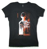 chemises junior bon marché achat en gros de-Femmes Tee Trois Jours Grace Couverture Filles Juniors Noir T Shirt Nouveau Officiel 3dg Merch Pas Cher Prix Femmes T-shirts