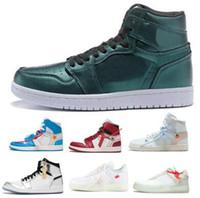 Wholesale black rebel - Off 1 Men Basketball Shoes Women Red Rebel OG Kawhi Leonard Think XX I NRG Man Forceing 2018 Classic Sport Shoe Sneakers Cheap