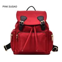 rückenbeutel klein großhandel-Rosa Sugao kleine rucksack frauen mode bookbag diebstahl rucksack schultaschen designer rucksack shouler tasche für mädchen PS051801