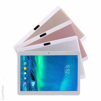 android pads gps großhandel-10,1 Zoll Telefon 3G Tablette PC-Vorsprungauflage ROM 4GB RAM 32GB acht Kern MTK Android 5.1 Bluetooth GPS 3G 4G LTE-Handy Doppelsimkarte