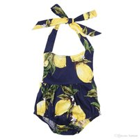 Wholesale Childrens Jumpsuits - New Baby Sleeveless Romper toddlers Newborn childrens Jumpsuit Babygrows Playsuit Clothes Top