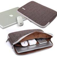 caderno do saco da caixa do portátil 17 venda por atacado-Kayond Marca Unisex Laptop Sleeve Liner Bag manga caso Herringbone Para 11 13,3 14 15,6 17 polegadas Notebook Laptop